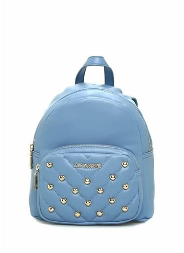 Love Moschino Sırt Çantası Mavi